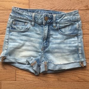American Eagle High-Waisted Shorts